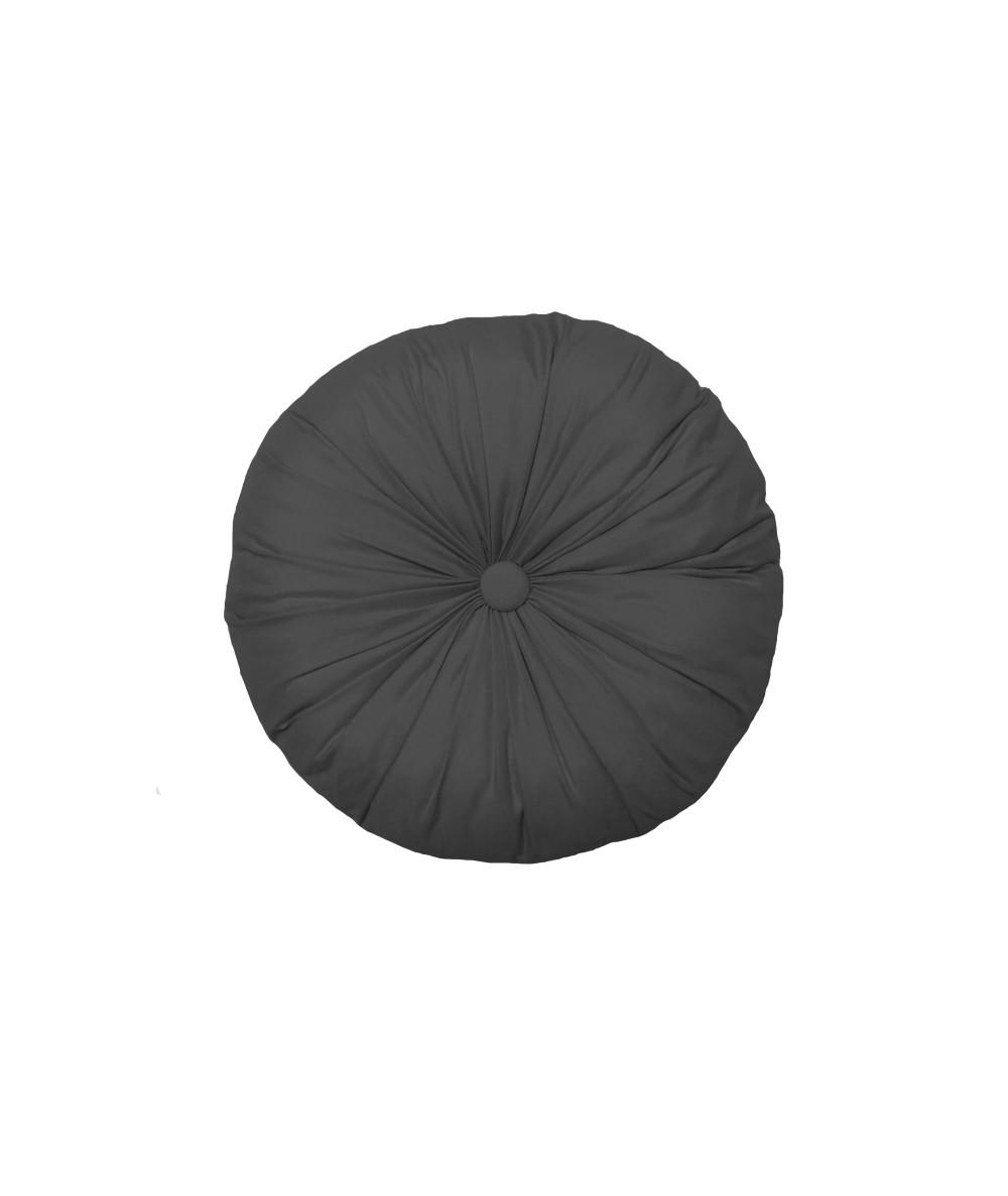 Poduszka okrągła Vege Home antracytowa