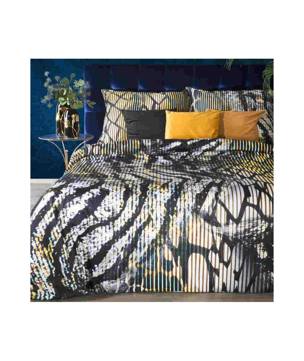 Pościel makosatyna bawełniana Eva Minge Carla 160x200 + 2x70x80 z zamkiem