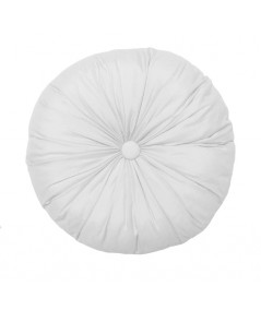 Poduszka okrągła Vege Home biała