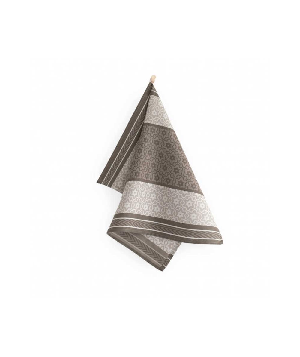 Ścierka  Marsala bawełna 50x70 brązowa
